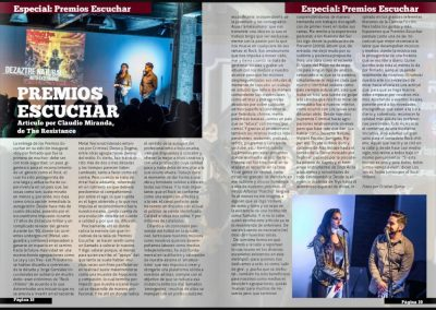 Premios Escuchar II