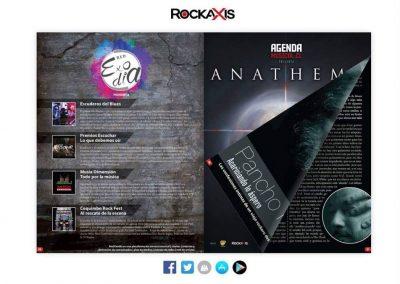 Sección Red Exodia-Rockaxis Abril 2017