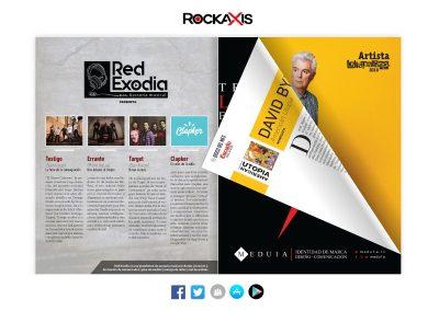 Sección Red Exodia-Rockaxis Mar 2018