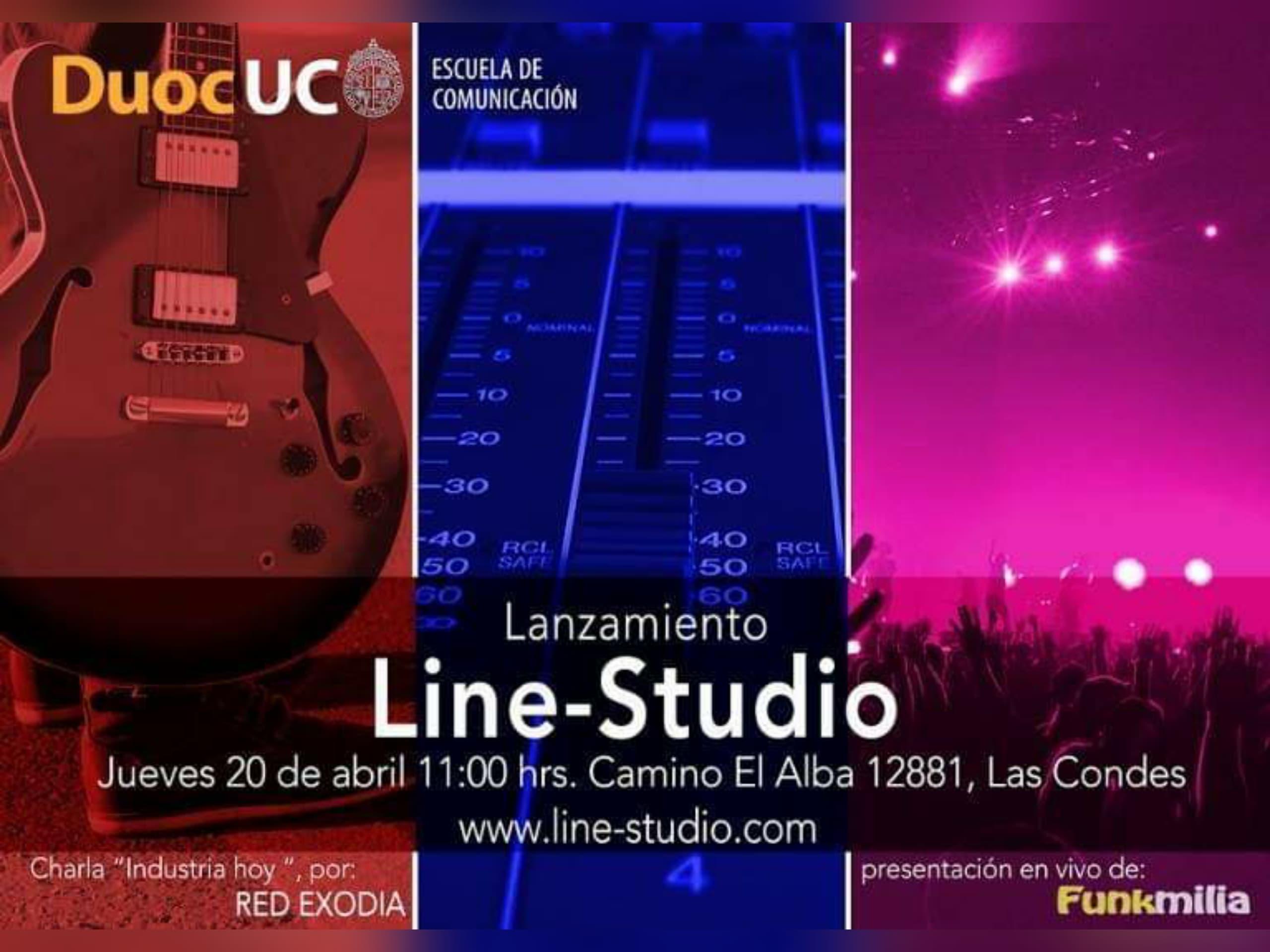 LANZAMIENTO LINE-STUDIO