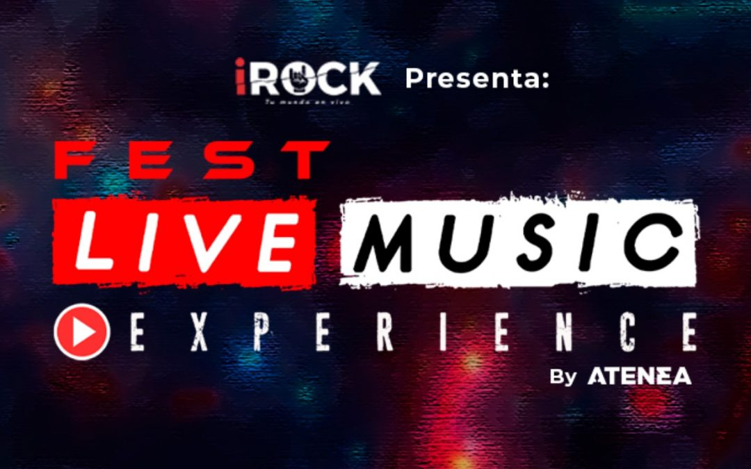 En vivo | Conciertos en casa: iRock presenta Live Music Experience Fest ¡gratis!