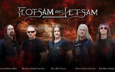 """Track by Track   Flotsam & Jetsam regresan con """"Blood In The Water"""", su decimocuarto álbum de estudio"""