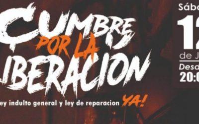 En vivo   SantaFeria, Camila Moreno Illapu y más en Cumbre por la Liberación