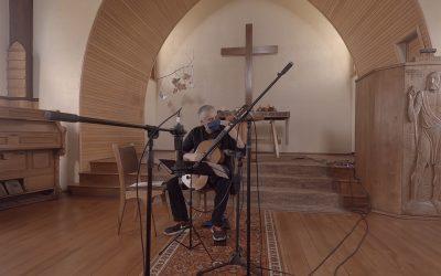 Track by Track   Guitarrista chileno Patricio Muñoz Quezada graba producción en Iglesia Luterana de Frutillar